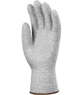 Taeki5 vágásbiztos, hőálló, kötött, szürke kesztyű