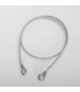 FP05 - acél rögzítőkötél - fehér