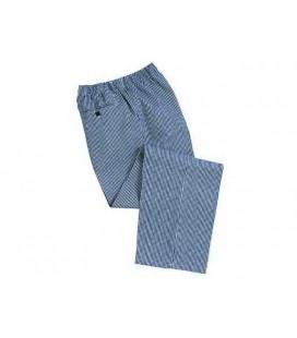 Bromley séf nadrág - kockás (kék fehér) C079