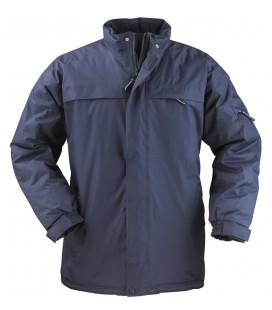 Kaban kék pepvc bélelt kabát