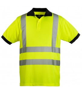 Hi-viz fényvisszaverő póló - sárga