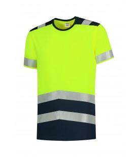 T-SHIRT HIGH VIS BICOLORT01 jól láthatósági póló