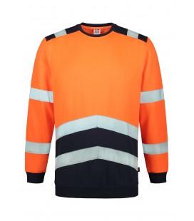 Sweater high vis bicolor jól láthatósági pulóver T40 - több színben