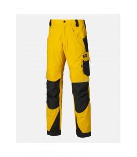 Dickies Pro derekas nadrág - sárga/fekete DP1000