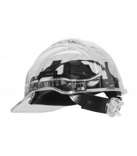 PV60 - Peak View Plus gyorsbeállítós, átlátszó védősisak, szellőző