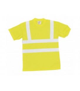 S478 - Jól láthatósági póló - sárga