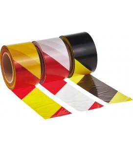 Jelzőszalag 7cm/200m sárga/piros