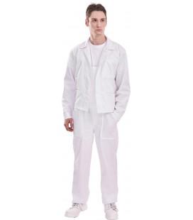 Fehér pamutkabát
