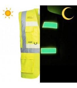 G476 - Glowtex vezetői mellény - sárga