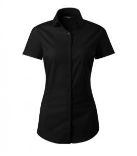 Női rövid ujjú ing enyhén szűkített - több színben FLASH261